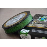 Шнур PowerPro Super 8 Slick 135m 0.41mm 40kg зеленый, фото 1