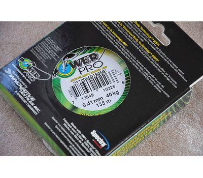 Шнур PowerPro Moss Green 135m 0.41mm 40kg, фото 3