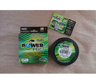 Шнур PowerPro Moss Green 135m 0.41mm 40kg, фото 7