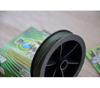 Шнур PowerPro Moss Green 135m 0.41mm 40kg, фото 10