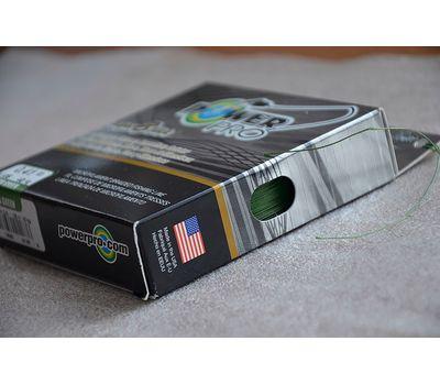 Шнур PowerPro Super 8 Slick 135m 0.41mm 40kg зеленый, фото 4