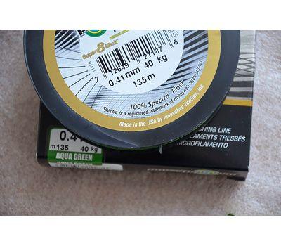 Шнур PowerPro Super 8 Slick 135m 0.41mm 40kg зеленый, фото 9