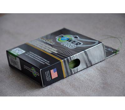 Шнур PowerPro Super 8 Slick 135m 0.43mm 50kg зеленый, фото 4