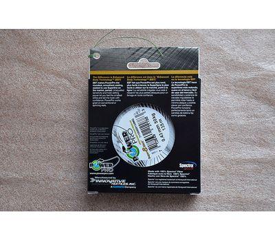 Шнур PowerPro Super 8 Slick 135m 0.43mm 50kg зеленый, фото 5