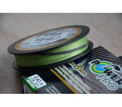 Шнур PowerPro Super 8 Slick 135m 0.43mm 50kg зеленый, фото 1