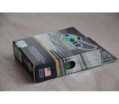 Шнур PowerPro Super 8 Slick 135m 0.36mm 30kg зеленый, фото 4