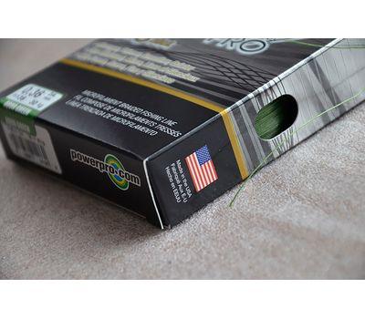 Шнур PowerPro Super 8 Slick 135m 0.36mm 30kg зеленый, фото 5