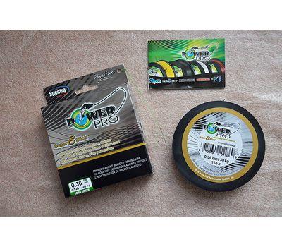 Шнур PowerPro Super 8 Slick 135m 0.36mm 30kg зеленый, фото 8
