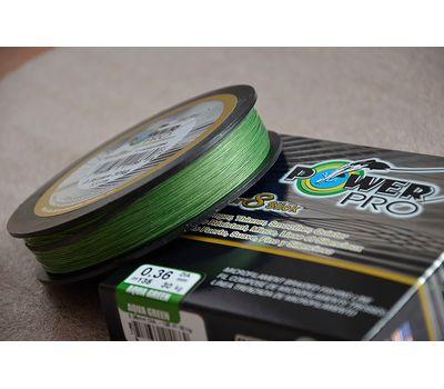 Шнур PowerPro Super 8 Slick 135m 0.36mm 30kg зеленый, фото 1